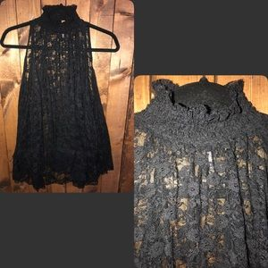 Free People Tops - Free People Lace tunic